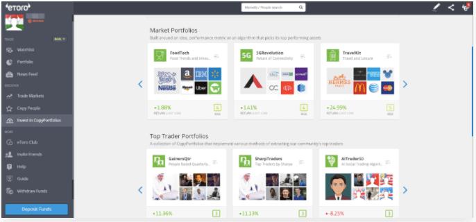 Copy Portfolio Platform