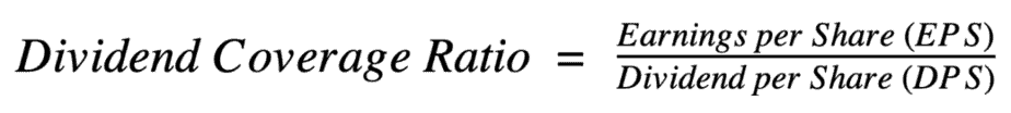 Dividend Coverage Ratio Equation