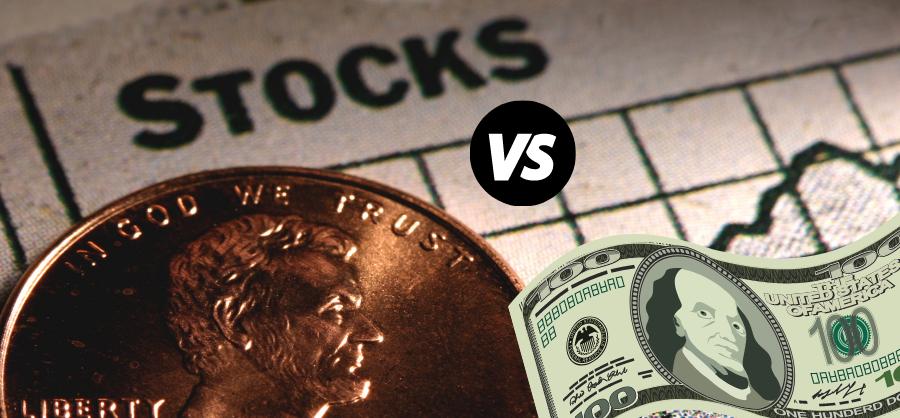 Penny Stocks vs Regular Stocks: Risk 900x900