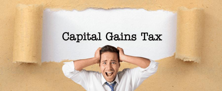 Capital Gains on Stock Market 2021 900x900