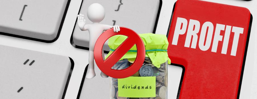 Dividends without profit 900x900